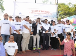 """Clean Dhaka"" A CSR Programme of Dhaka Club -2015"