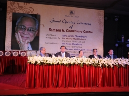 Grand Opening Ceremony of Samson H. Chowdhury Centre