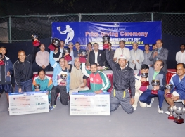 Dhaka Club President's Cup National Tennis Tournament(Prize giving Ceremony)